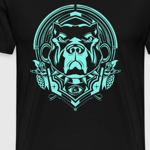 Rescue dogs and separation - Men's Premium T-Shirt