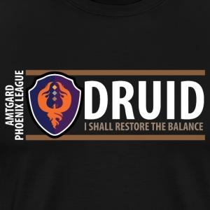 Shield Series: Druid Balance - Men's Premium T-Shirt
