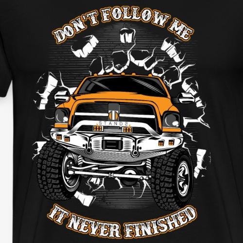 Don t follow me - Men's Premium T-Shirt