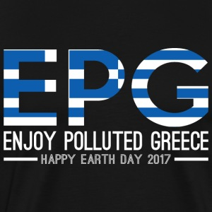 EPG Enjoy Polluted Greece Happy Earth Day 2017 - Men's Premium T-Shirt