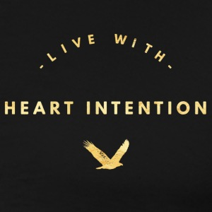 Live with heart intention 3 - Men's Premium T-Shirt