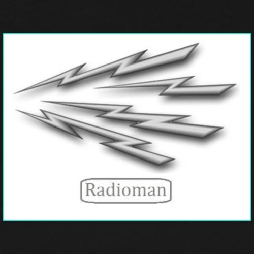 Radio Man Fashion Line Up - Men's Premium T-Shirt