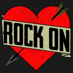 Rock On Heart - Men's Premium T-Shirt