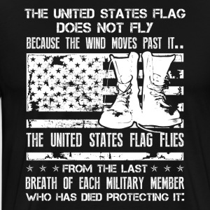 Patriotic Military Shirt - Men's Premium T-Shirt