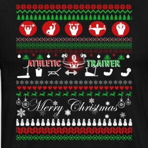 Athletic Trainer Christmas Shirts - Men's Premium T-Shirt