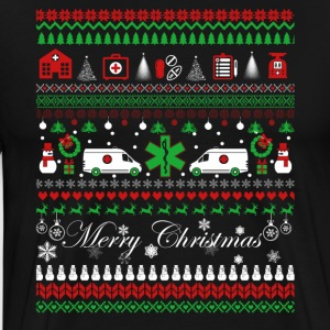 EMT Shirt - EMT Christmas Shirt - Men's Premium T-Shirt