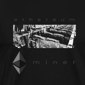 Eth miner - Men's Premium T-Shirt