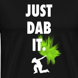 just dab it DAB panda dabbing football touchdown - Men's Premium T-Shirt