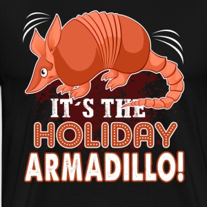 HOLIDAY ARMADILLO SHIRT - Men's Premium T-Shirt