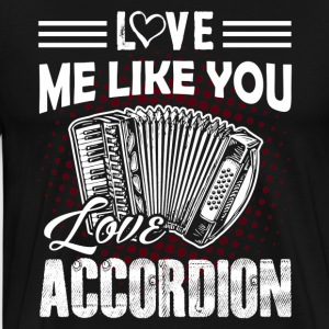 Love Accordion Shirt - Men's Premium T-Shirt