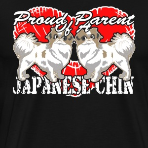 JAPANESE CHIN PROUD PARENT SHIRT - Men's Premium T-Shirt