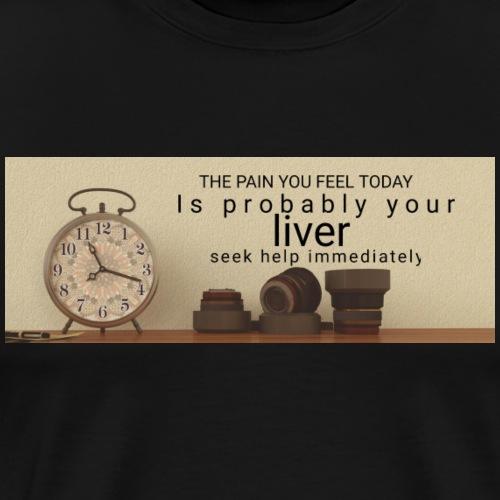 Liver Help - Men's Premium T-Shirt