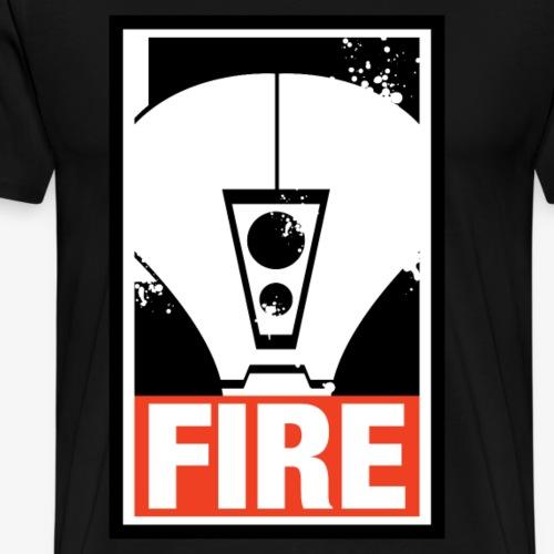 Fire Warrior - Tau - Men's Premium T-Shirt