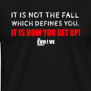 get back up shirt - Men's Premium T-Shirt