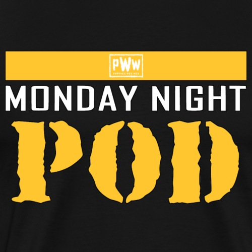 PWW Monday Night Pod - Men's Premium T-Shirt