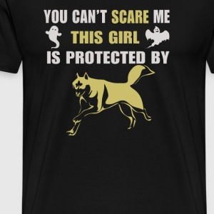 You Can t Scare Me This Girl Is Protected - Men's Premium T-Shirt