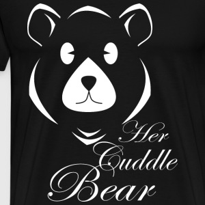 Her Cuddle Bear - Men's Premium T-Shirt