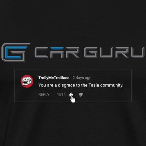 Car Guru - Trolly McTrollface - Men's Premium T-Shirt