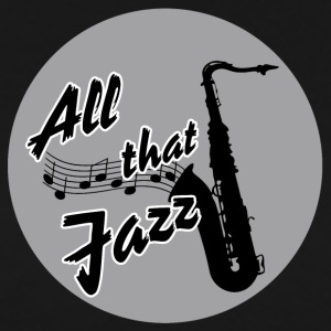 Allt that jazz - Saxophon - Men's Premium T-Shirt