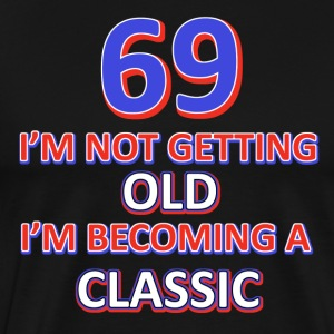 69th birthday design - Men's Premium T-Shirt