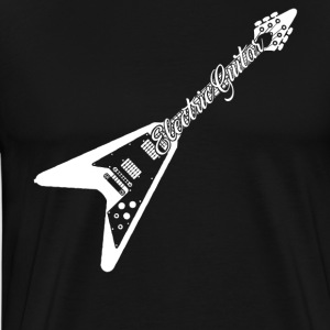 Electric Guitar Tee - Men's Premium T-Shirt