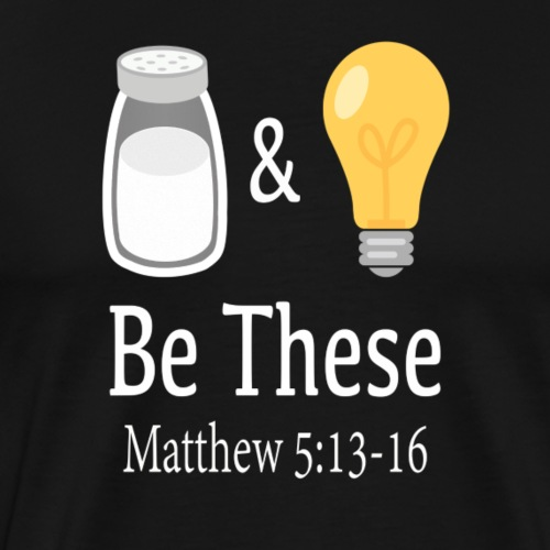 Salt & Light - white - Men's Premium T-Shirt