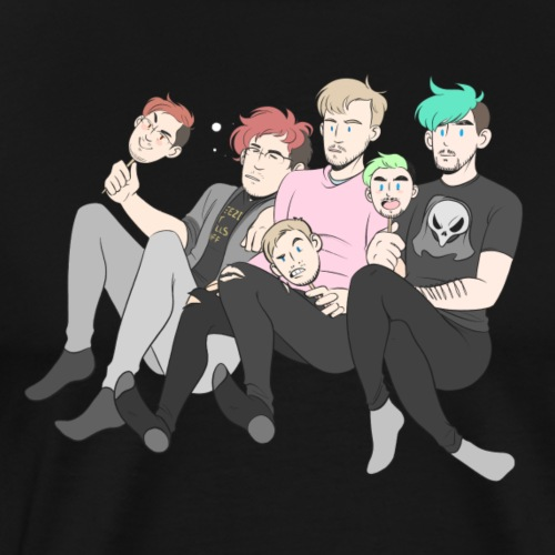 Mark, Felix, and Jack - Men's Premium T-Shirt