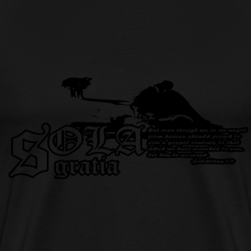 Sola Gratia - Men's Premium T-Shirt