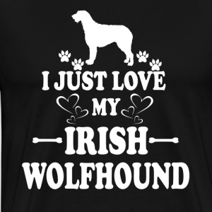 IRISH WOLFHOUND TEE SHIRT - Men's Premium T-Shirt