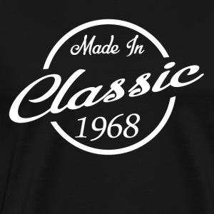 Classic Made in 1968 50th Birthday Gift - Men's Premium T-Shirt