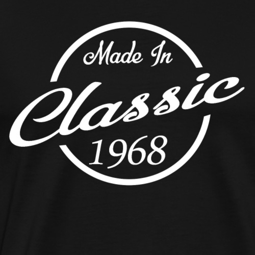 Classic Made in 1968 50th Birthday Gift - Men's Premium T-Shirt