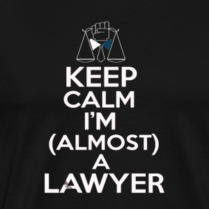 Almost A Lawyer - Men's Premium T-Shirt