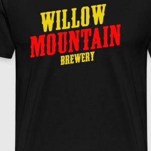 Willow mountain brewery - Men's Premium T-Shirt