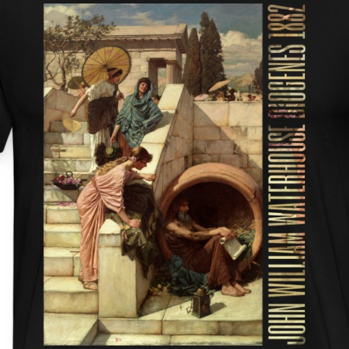 DIOGENES 1882 - Men's Premium T-Shirt