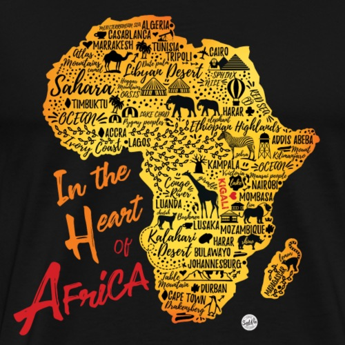 In the heart of Africa - Rwanda - Men's Premium T-Shirt