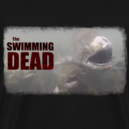 Swimming Dead - Men's Premium T-Shirt