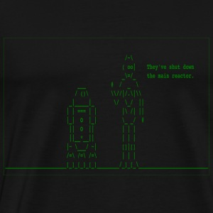 Star Wars - They've Shut Down the Main Reactor - Men's Premium T-Shirt