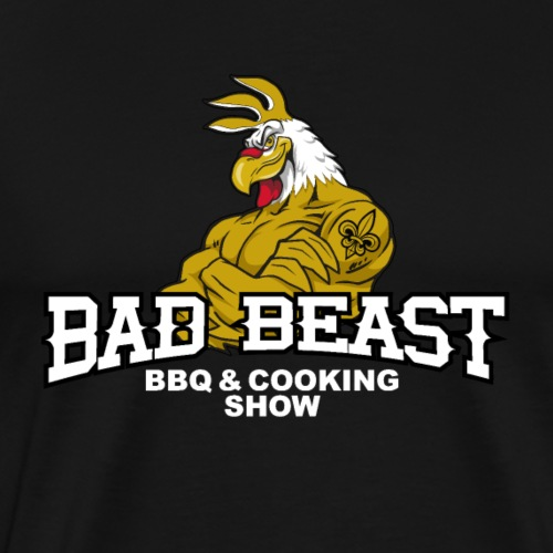 Original Bad Beast Barbecue Logo - Men's Premium T-Shirt
