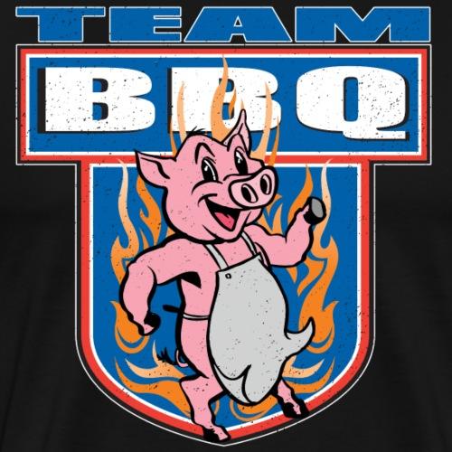 Team BBQ Pork Cookout - Men's Premium T-Shirt