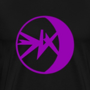 EKlips Purple/Blk Series - Men's Premium T-Shirt