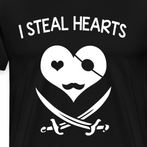 I steal hearts - Men's Premium T-Shirt