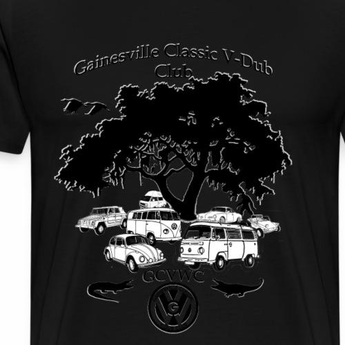 vdub shirt10_outlined - Men's Premium T-Shirt