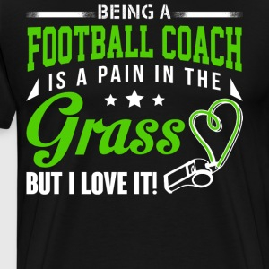Being Football Coach T Shirt - Men's Premium T-Shirt