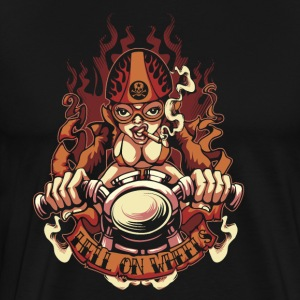Hell on Wheels - Men's Premium T-Shirt