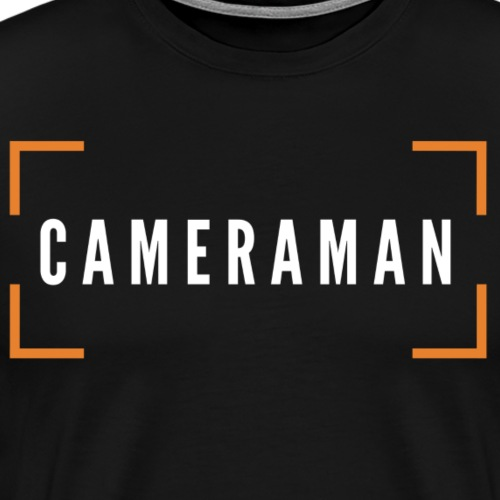 CAMERAMAN - Men's Premium T-Shirt
