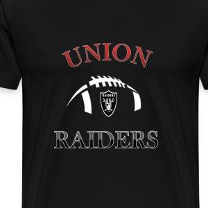 Union Raiders Pee Wee Football - Men's Premium T-Shirt