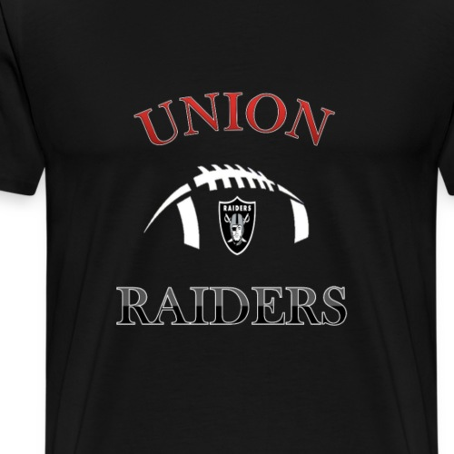 Union Raiders Pee Wee Football - Men's Premium T-Shirt