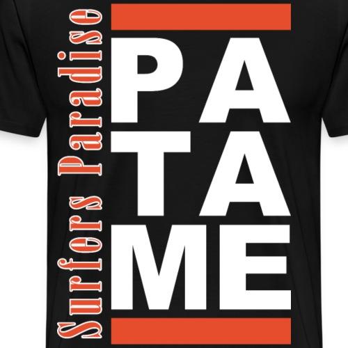 Patame Surfers Paradise White - Men's Premium T-Shirt