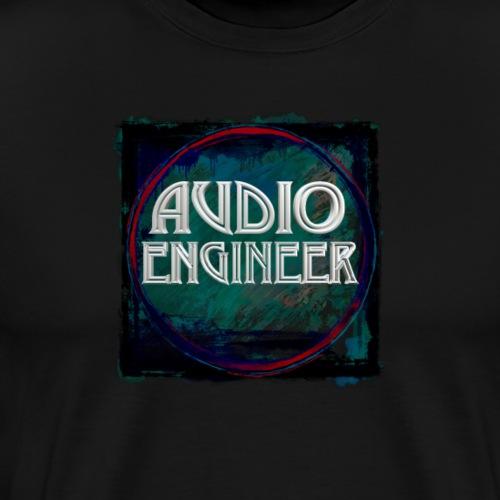 Audio Engineer New Design - Men's Premium T-Shirt