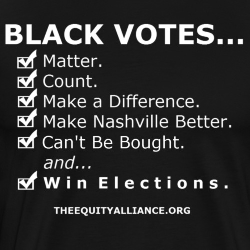 Black Votes-Nashville - Men's Premium T-Shirt